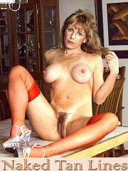 Ginger - Mature Tanlines