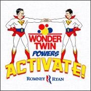 Romney Ryan Wonder Twins T-Shirt